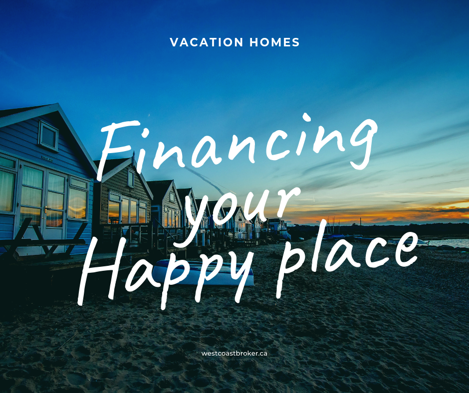 financing your vacation property